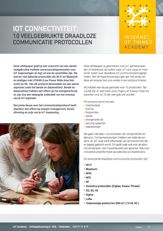 IoT Connectiviteit: 10 veelgebruikte draadloze communicatie protocollen