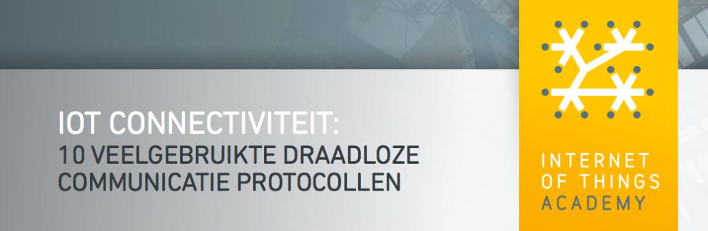 Header IoTacademy Premium Whitepaper Connectiviteit