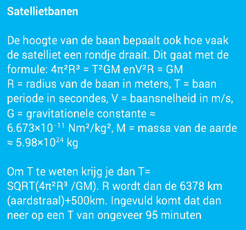 satellietbanen blauw